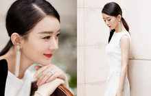 Bộ ảnh chính thức comeback showbiz của Triệu Lệ Dĩnh: Đằm thắm, dịu dàng, body sau sinh trở lại đúng thời con gái