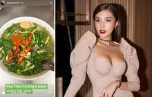 """""""Hội thích ăn hành"""" gọi tên cả Hoa hậu rồi đây: Kỳ Duyên vừa ra Hà Nội là phải đi ăn bát phở Thìn ngập hành xanh đây này"""
