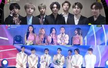 """Tổng kết Soribada 2019: BTS không dự cũng có Daesang, 100% nghệ sĩ đi đều có """"phần"""" mang về!"""