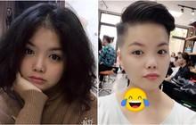 Gái xinh tự nhiên cắt phăng mái tóc dài, đổi style tomboy khiến cả nhà bị shock