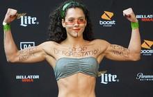 Sử dụng cách thức đặc biệt để kêu gọi ngưng tàn phá rừng, nữ võ sĩ xinh đẹp nhận được hàng vạn ý kiến tán đồng