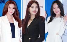 """Màn đọ sắc hiếm hoi của bộ 3 mỹ nhân siêu hot: Suzy sexy hút hồn, lấn át cả chân dài SNSD và """"nữ hoàng fancam"""" Hani"""