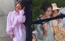 Lâm Tâm Như úp mở mang thai lần 2 ở tuổi 43, liên tục giấu bụng bằng quần áo rộng thùng thình?