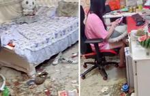 Hot girl livestream lộ cảnh hậu trường căn phòng ngập rác và đồ ăn thừa khiến dân tình khiếp đảm