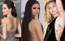 Ẩn ý đằng sau hình xăm của sao Hollywood: Selena và Demi tiết lộ câu chuyện đầy đau khổ nhưng Miley mới là cảm động nhất