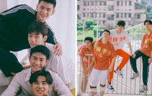 """""""Bạn trai quốc dân"""" Hắc Trạch chụp ảnh cùng hội bạn thân mà tưởng như poster phim mỹ nam học đường"""