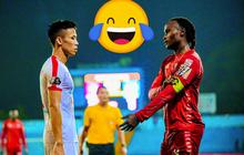 """Vừa thua, vừa chán, đội trưởng tuyển Việt Nam còn bị ngoại binh đối phương trêu: """"Sao em nỡ giận anh?"""""""