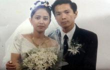"""Ảnh cưới 22 năm trước của NSND Trung Anh hot trở lại, ai cũng xuýt xoa vẻ lãng tử một thời của """"ông bố quốc dân"""""""
