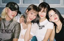 Hội bạn thân Chi Pu chung khung hình: Dàn hotgirl đình đám Hà thành một thời đi chơi thôi mà đẹp như bìa tạp chí!