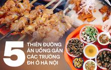 """1001 địa chỉ ăn uống ngon bổ rẻ """"nhất trần đời"""" của thổ địa 5 khu trường ĐH nổi tiếng ở Hà Nội cho tân sinh viên mới nhập học"""