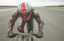 Choáng váng trước kỷ lục 280 km/h do tay đua xe đạp mới thiết lập