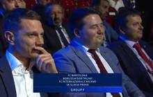 Cười đau bụng với biểu cảm hài hước của Phó chủ tịch đội bóng CH Séc sau khi thấy CLB của mình bị xếp vào bảng đấu toàn ngáo ộp