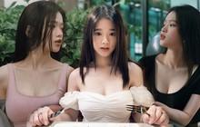 Trước còn bỡ ngỡ chứ giờ Linh Ka bắt đầu nhập hội hở bạo, mặc đồ o ép, mạnh dạn khoe ngực
