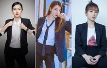 """Mỹ nhân Cbiz diện suit: Nhiệt Ba, Angela Baby đúng chất """"nữ cường nhân"""", Dương Tử lại gây hoang mang"""