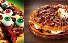 """Học bà Tân, người Nhật cũng làm pizza """"siêu to khổng lồ"""" mang tên """"núi thịt"""" bởi có tới 18 loại thịt khác nhau"""