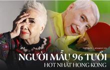 """""""Bà ngoại gân"""" nhất Hong Kong: 96 tuổi trở thành người mẫu nổi tiếng được nhiều thương hiệu săn đón và cách sống """"hãy là chính mình"""" đáng học hỏi"""