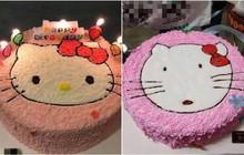 Pha tự an ủi cực mạnh đến từ nạn nhân mua bánh Hello Kitty, nhận bánh phiên bản đã tẩy trang: Thôi thì trông cũng đáng yêu!