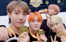 NCT là nhóm nhạc đỉnh nhất đại hội thể thao Idol 2019 khi ôm huy chương vàng một lúc 3 bộ môn