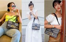 """Chiếc túi Dior """"tai tiếng"""" trong drama túi fake của Sĩ Thanh hoá ra cực được lòng hội sao Việt chuộng hàng hiệu"""