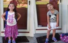 """Những hình ảnh khó đỡ của con khi đi học chỉ có phụ huynh mới thấu hiểu: """"Mẹ mang mùa hè về đây đi"""""""