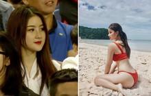 Nhan sắc lên hương, body ngày càng nóng bỏng của CĐV xinh đẹp nổi tiếng sau trận U23 Việt Nam gặp Thái Lan