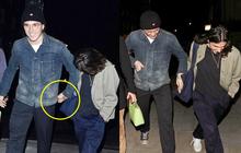 """Cậu cả Brooklyn Beckham tươi cười nắm chặt tay trai lạ không rời, chẳng lẽ """"đổi gu"""" hậu chia tay bạn gái?"""