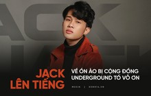 """Fanpage Underground xóa post """"bóng gió"""" Jack vô ơn sau chưa đầy 1 ngày, phía Jack lên tiếng giải thích sự việc"""
