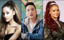 Nửa đêm canh ba, JustaTee tự dưng tuyên bố... Ariana Grande tuổi tôm!?