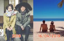 Hoá ra ảnh đi du lịch của Quang Đăng và Thái Trinh đã ngầm thông báo tin chia tay của cặp đôi từ gần 5 tháng trước