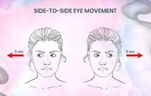 10 bài tập giúp giảm bớt tình trạng nhức mỏi cho đôi mắt sau những giờ làm việc căng thẳng