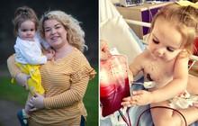 Mắc căn bệnh bí ẩn, bé gái đáng thương không thể sống nếu không được truyền máu của người khác