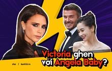 """Victoria Beckham ghen lồng lộn sau khi xem loạt ảnh David Beckham tổ chức """"đám cưới"""" cùng Angela Baby?"""