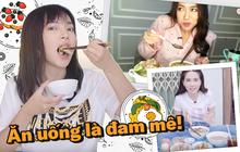 """Khi các sao nữ nổi hứng làm Youtube ăn uống: Châu Bùi - Diệu Nhi đối lập ngọt ngào - """"lầy lội"""", nhưng """"ngược đời"""" nhất phải là Ngọc Trinh"""