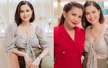 """Đi dự khai trương thôi mà """"mỹ nhân đẹp nhất Philippines"""" vẫn gây sốt vì quá xinh, vòng 1 lấp ló hút mắt"""