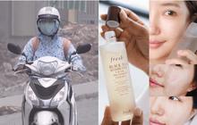 Không khí Hà Nội đang ô nhiễm trầm trọng, để làn da không xuống cấp các nàng cần đặc biệt chú trọng bước 4 skincare