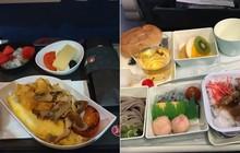 So sánh nhanh các suất ăn trên những chuyến bay quốc tế: Hãng hàng không gia Việt Nam vẫn xuất sắc nhất còn lại thì... thà ăn mì gói còn hơn!