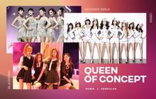 """Kpop đỉnh nhất ở khoản sáng tạo nên các concept cho idol, nhưng nhóm nữ nào mới xứng đáng được vinh danh """"nữ hoàng cân mọi concept""""?"""