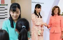 """Công chúa Nhật Bản gây bất ngờ trong chuyến công du nước ngoài đầu tiên với màn """"lột xác"""" từ diện mạo đến thần thái"""