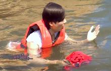 Trai đẹp của boygroup người Việt D1Verse gặp chấn thương nhẹ khi nô đùa dưới nước