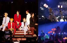 """Fan BLACKPINK, TWICE bất ngờ """"trà trộn"""" vào concert mới nhất của EXO: Chỉ đơn giản là fan lai hay đi """"cà khịa"""" dạo?"""