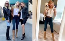 """Hậu chia tay bạn gái, Miley Cyrus gây sốt khi đăng ảnh khoe body """"tỷ lệ vàng"""" và đôi chân dài như mơ"""
