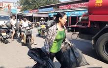 Hà Nội: Cháy hàng loạt ki ốt tại chợ Tó - Đông Anh, tiểu thương hốt hoảng ôm hàng bỏ chạy