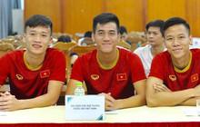 Quế Ngọc Hải, Hoàng Đức bảnh bao tại Lễ công bố nhà tài trợ đội tuyển bóng đá Quốc gia Việt Nam