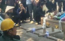 Xót lòng đám tang đẫm nước mắt của 3 mẹ con tử vong trong vụ tai nạn ở Hà Nội