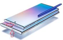 Bạn có biết cái lỗ bí ẩn này trên Galaxy Note 10 là gì không?
