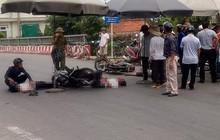 2 xe máy đấu đầu trên quốc lộ, 3 người thương vong