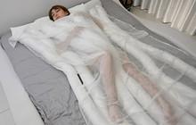 Chiếc chăn xuyên thấu với hình dáng như sợi mì Udon này của người Nhật sẽ giúp bạn có giấc ngủ ngon nhất