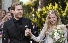 YouTuber nổi tiếng bậc nhất thế giới PewDiePie vừa chính thức kết hôn, nhan sắc cô dâu khiến ai cũng phải chú ý