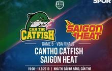 Saigon Heat và Cantho Catfish có gì trước trận đấu quan trọng nhất của VBA 2019?