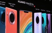 """Huawei Mate 30 và Mate 30 Pro ra mắt: Màn hình """"chân trời"""", slow-motion 7680fps, loại bỏ nút vật lý, không có dịch vụ Google"""